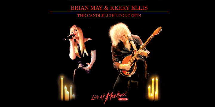 CD + DVD Brian May & Kerry Ellis - the Candlelight Concerts