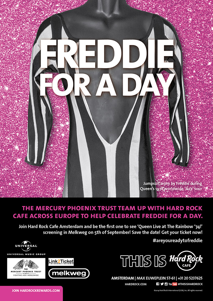 Freddie for a Day 5 september