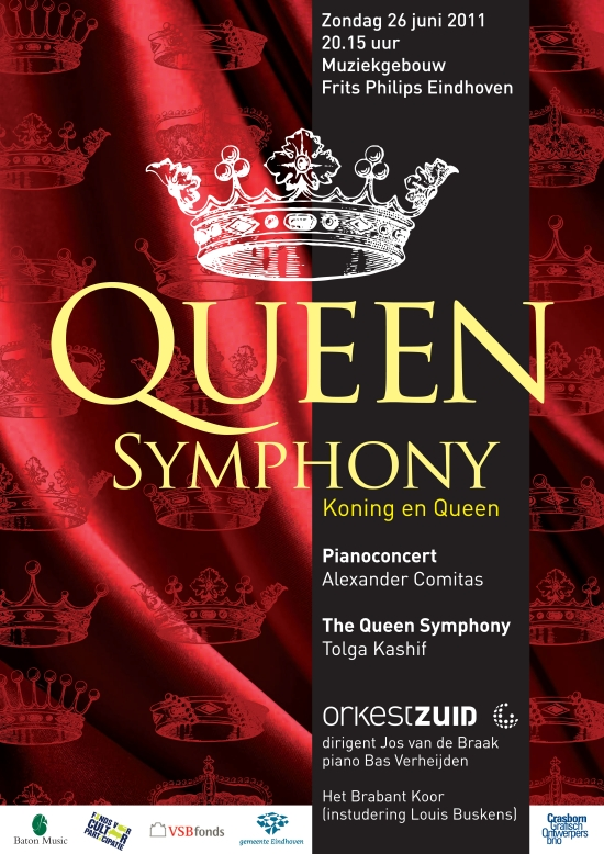 the Queen Symphony in Eindhoven