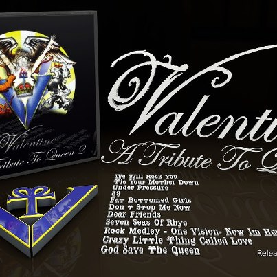 Release 2e Queen Tribute CD van Robby Valentine