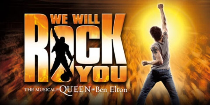 We Will Rock You wint Olivier Award